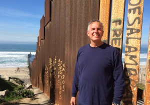 Dave at the U.S. Mexico border - Life on the Border