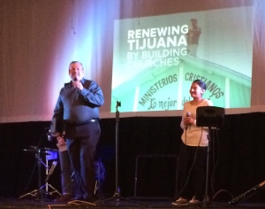 Pastor Daniel Nuñez sharing how God is renewing Tijuana