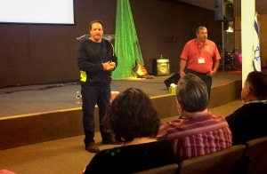 JD Pearring & Daniel Nuñez leading the Discovery Center