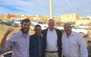 David Feiser, Victor Bravo, Dave & Daniel Nuñez