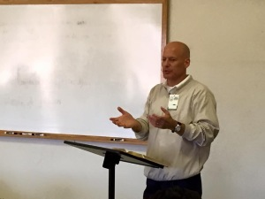 Dr. Larry Trotter teaching on Christ-centered preaching