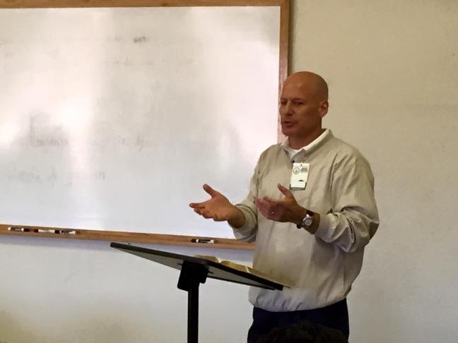 Dr. Larry Trotter teaching on Christ-centered preaching