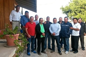 The group of pastors and leaders in San Antonio de las Minas