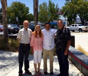 Jim DeWitt, Valentina & Jaime Rodriguez with Dave