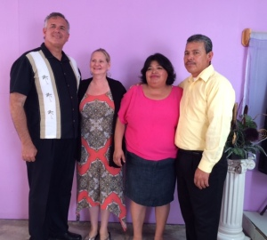 Dave & Dawn with Pastor Mario Perez and his wife, Mara