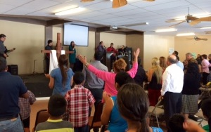 Worship at Rojo Gomez