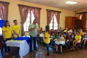 Recognizing the children on the last day of VBS