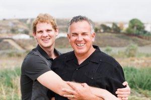 Dave with Jonathan