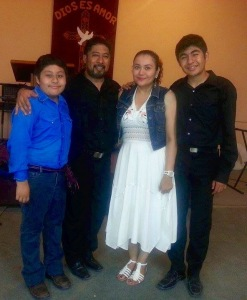 Efrain & Jenny with their two boys