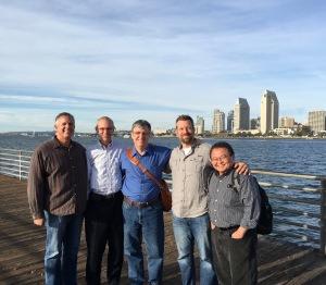 Dave, Jim DeWitt, Jim Moon, Jr., Matt Jesch & Gary Watanabe