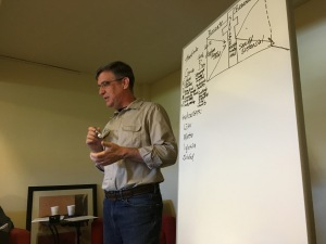 Jim Moon leading one of our coaching training sessions