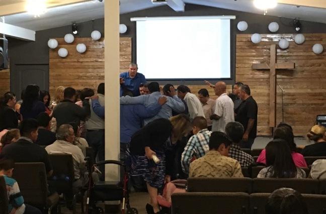 Praying for Jesus & Lucina Acosta