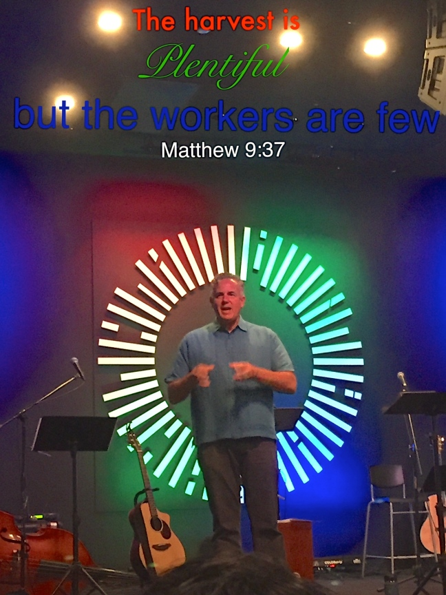 Dave preaching at Grace Renewal Church