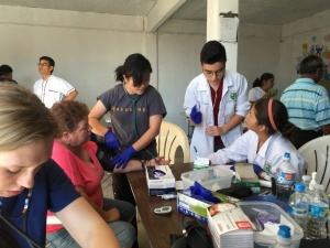 The Redeemer San Diego medical team hard at work