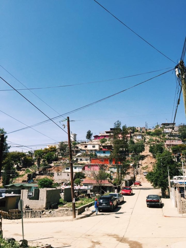 Neighborhood where we held medical outreach