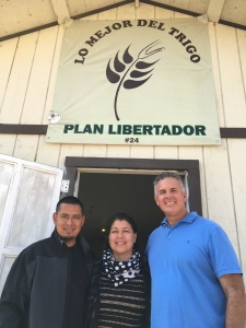 Dave with Pastor Victor Bravo & Sol at one of the church plants we helped start in 2015