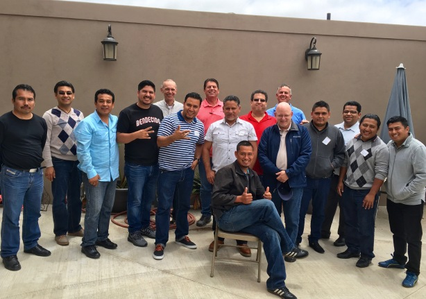 Our group of pastors and trainers for the incubator church planting training
