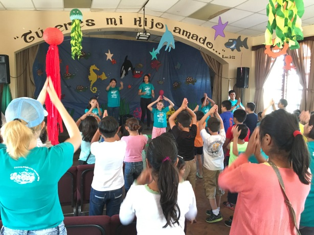 VBS at La Nueva Jerusalén church in Ensenada