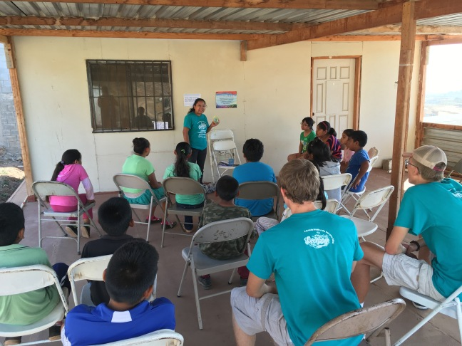 VBS at Gracia Eterna in Maneadero south of Ensenada
