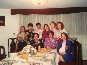 Dawn with some of the women that were involved in our first church plant