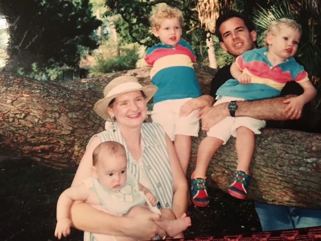 The Diaso family at the end of our first term. Hannah was born in April and we left for our Home Ministry Assignment in May of 1994