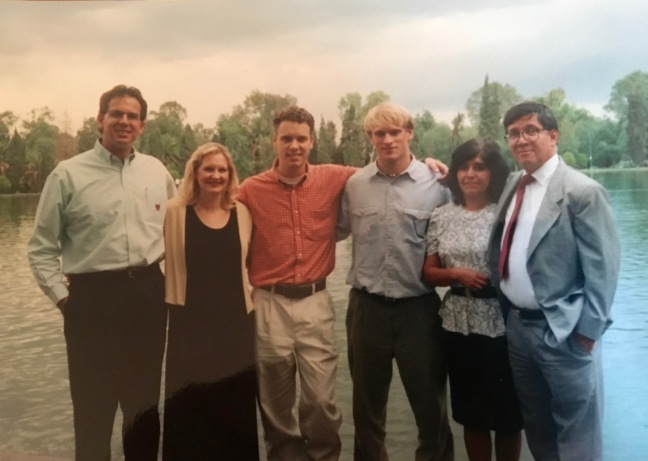 We used to have interns work with us in the summer. Jeremy Gabrysch in the middle went on to be a doctor and served as a medical missionary in Ethiopia. Jose Antonio Navarro (on the right) a great friend and a valuable partner in ministry.