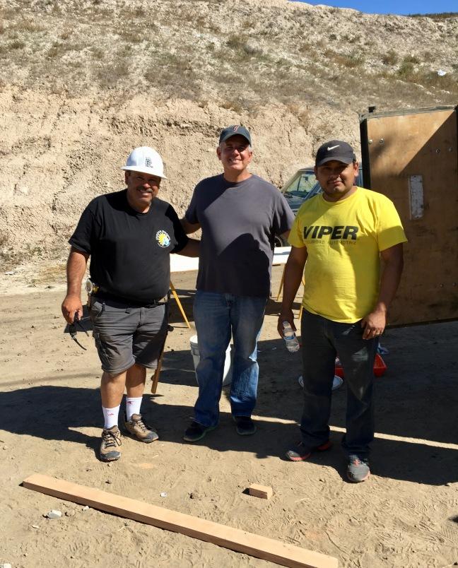 Pastor Daniel Nuñez, Dave and Pastor Obed Lares