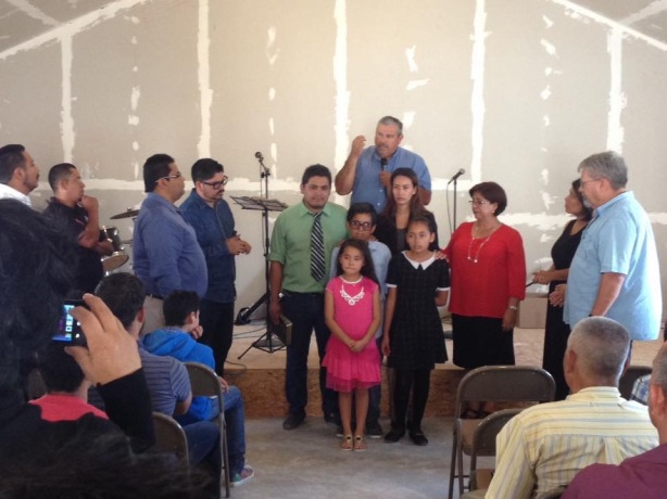 The inaugural service for Ministerios Transformación in Rosarito. Church #29