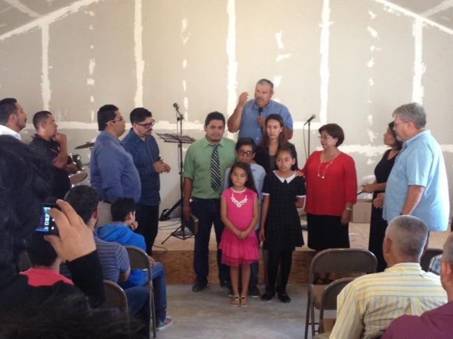 The inaugural service for Ministerios Transformación in Rosarito. Church #29