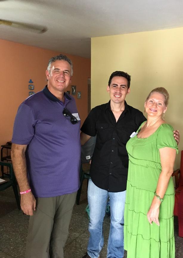 David & Dawn with Frank Batista