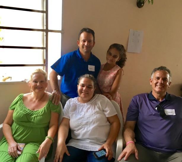 David & Dawn with Oniel, Heidy and Rosa