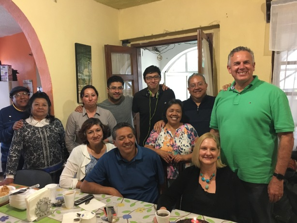 Dave & Dawn with the Cisneros family