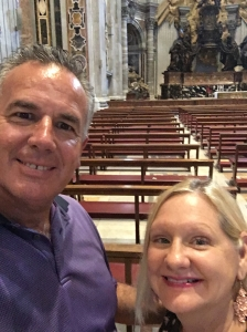 Dave & Dawn in St. Peter's Cathedral