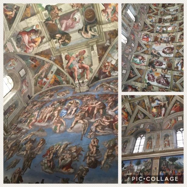 Michelangelo's masterpiece found in the Sistine Chapel