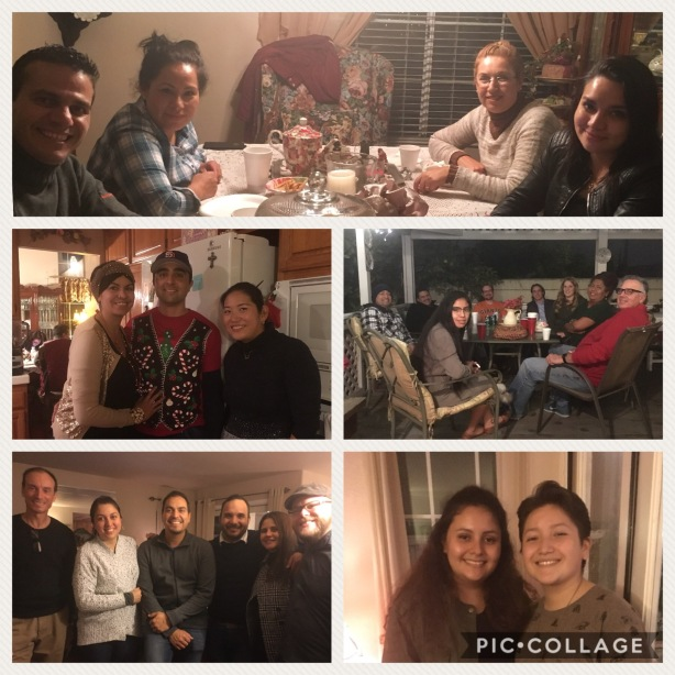 A fun time at our Christmas posada with our friends - the day the music came back to life!