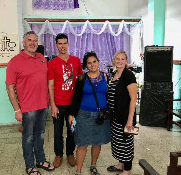 Dave and Dawn with Pastor Mario and his wife, Yany