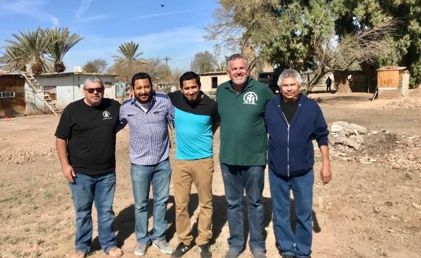 Pastor Daniel Nuñez, Pastor Edson Martinez, Pastor Mere Godinez, Dave Diaso and Pastor Rafael