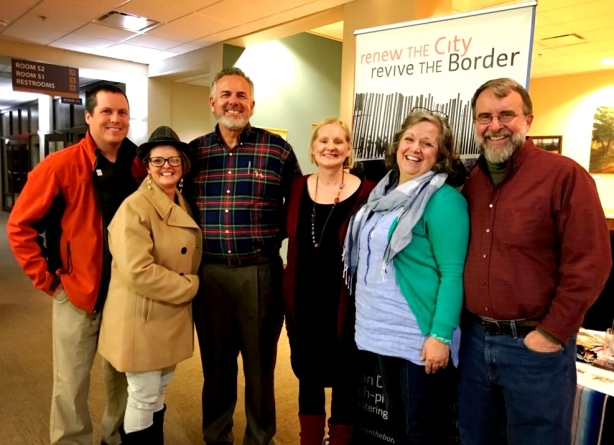 Dave and Dawn in the middle with fellow MTW Mexico missionaries, Jamie and Jen Burkemper, Dan and Becky Young