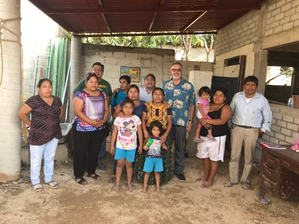 Some of the people I met in Ixtepec from one of the churches