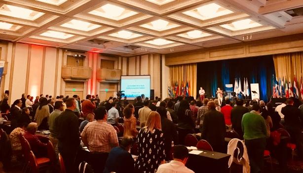 Red de Multiplicación conference in Montevideo, Uruguay