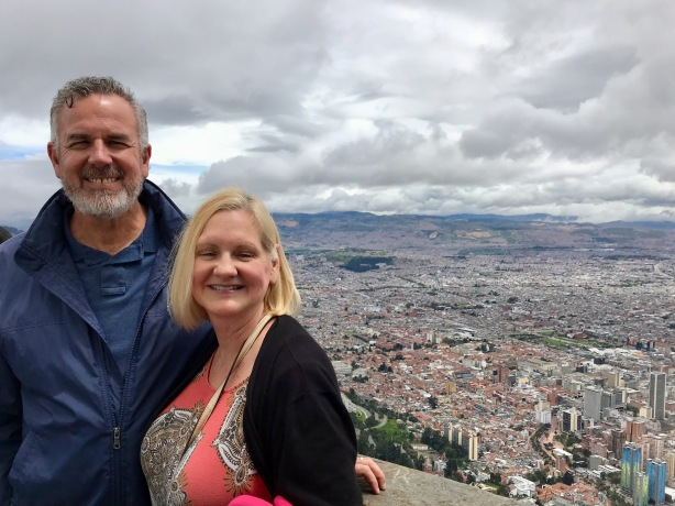 Dave & Dawn in Bogotá Colombia