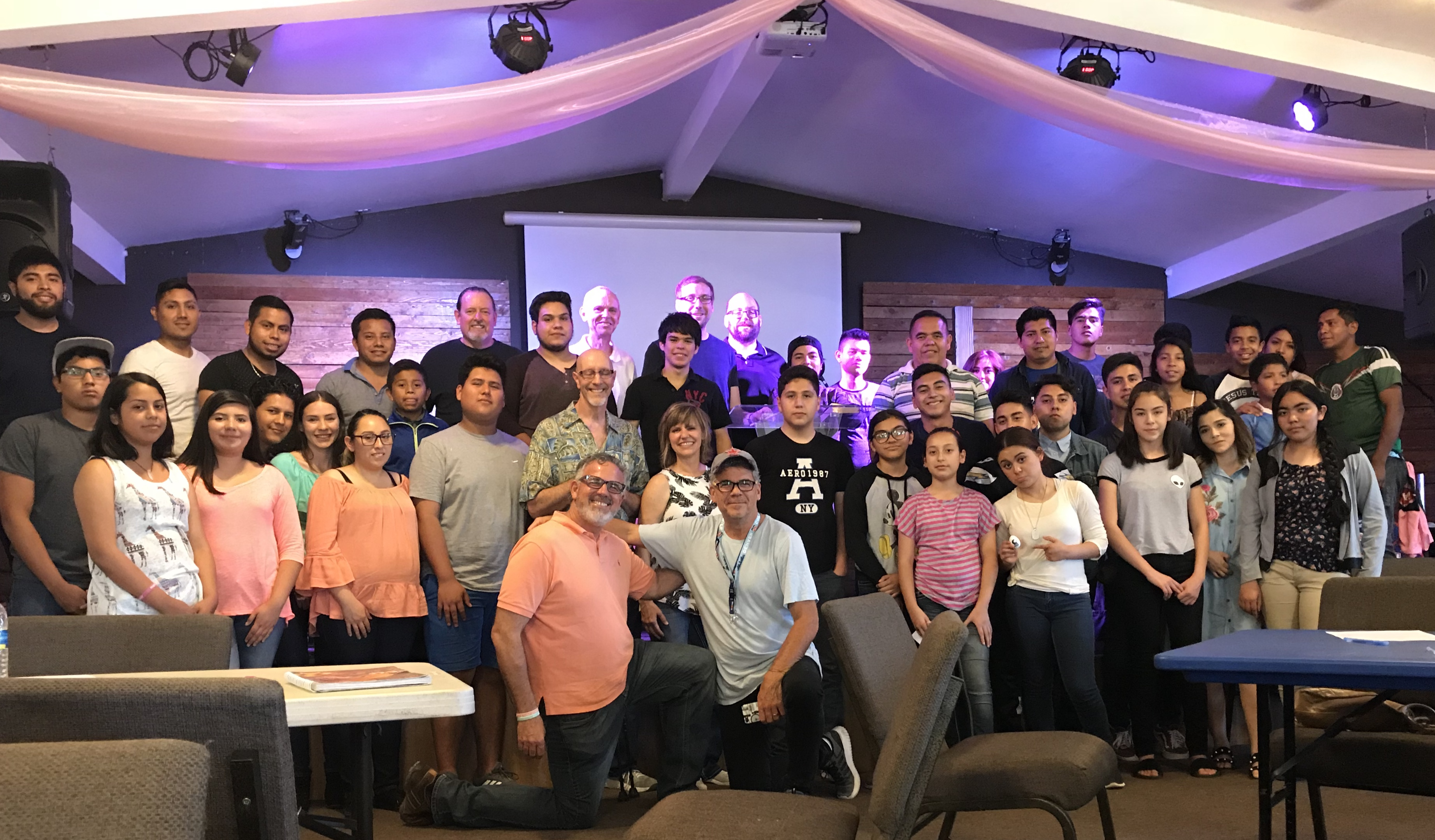 The group that attended the worship workshop in Tijuana