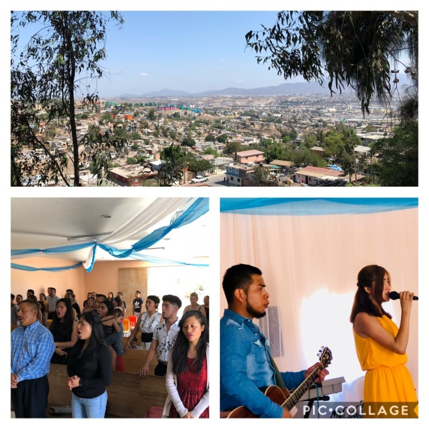 The View from Monte Sinai church and the people worshipping the King of Kings and Lord of Lords!