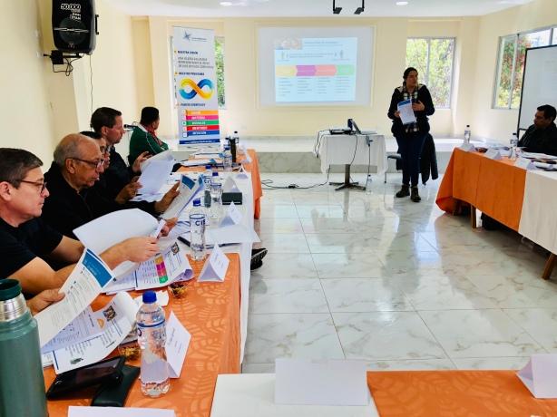 Red de Multiplicación meeting in Quito