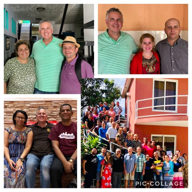 Our group with the church planters in Havana