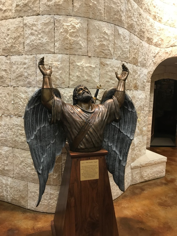 Warrior Angel at the prayer center at Every Home for Christ in Colorado Springs